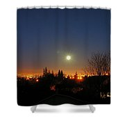 Valley Moon Shower Curtain
