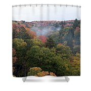 Valley Of Color Shower Curtain