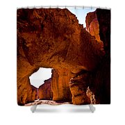 Valley Of Fire Arch Shower Curtain