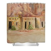 Valley Of Fire Cabins Shower Curtain