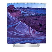 Valley Of Fire - Fire Wave 2 - Nevada Shower Curtain