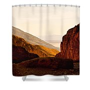 Valley Of Fire Morning Sun Shower Curtain