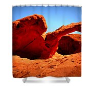 Valley Of Fire Nevada Desert Shower Curtain