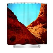 Valley Of Fire Nevada Desert Sand People Shower Curtain