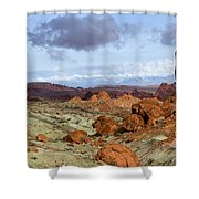 Valley Of Fire State Park Shower Curtain