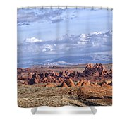 Valley Of Fire Vista Shower Curtain