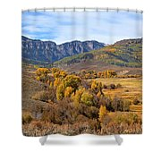 Valley Of Gold Shower Curtain