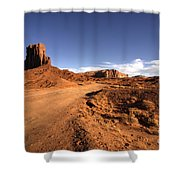 Valley Of Monuments  Shower Curtain