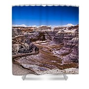 Valley Path Shower Curtain