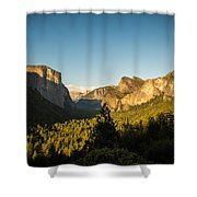 Valley Setting Shower Curtain