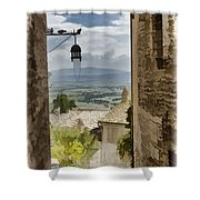 Valley View - Assisi Shower Curtain