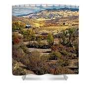 Valley View Shower Curtain by Robert Bales