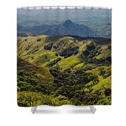 Valleys And Mountains Shower Curtain