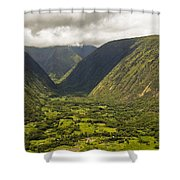 Vally View Shower Curtain