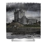 Vampire Castle Shower Curtain by Juli Scalzi