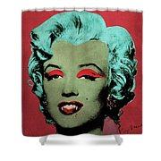 Vampire Marilyn Variant 1 Shower Curtain