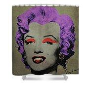 Vampire Marilyn Variant 3 Shower Curtain