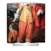 Van Dyck's Henri II De Lorraine Shower Curtain