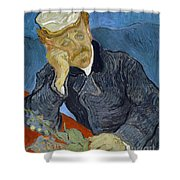 Van Gogh Dr Gachet Shower Curtain