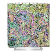 Van Gogh Style Abstract I Shower Curtain