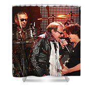 Van Halen-7132b Shower Curtain