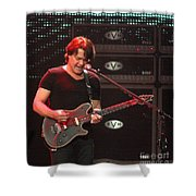 Van Halen-7305b Shower Curtain