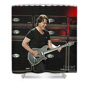 Van Halen-7394b Shower Curtain