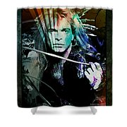 Van Halen - David Lee Roth Shower Curtain