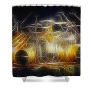 Van Halen-ou812-alex-f24a-fractal Shower Curtain