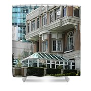 Vancouver Architectural Heritage Shower Curtain