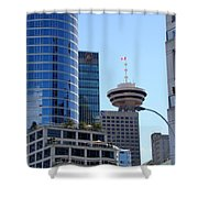 Vancouver Architecture 2 Shower Curtain