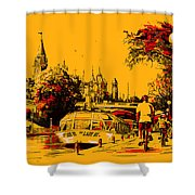 Vancouver Art 002 Shower Curtain
