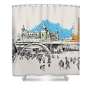 Vancouver Art 003 Shower Curtain