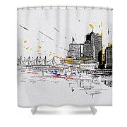 Vancouver Art 004 Shower Curtain