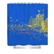 Vancouver Art 005 Shower Curtain