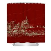 Vancouver Art 007 Shower Curtain