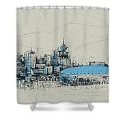 Vancouver Art 008 Shower Curtain