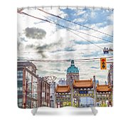Vancouver China Town Shower Curtain