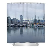 Vancouver Panorama Shower Curtain