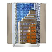 Vancouver Reflections No 1 Shower Curtain