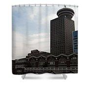 Vancouver Scape Shower Curtain
