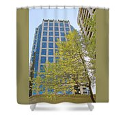 Vancouver Silhouettes No 1 Shower Curtain