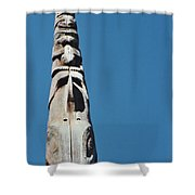 Vancouver Totem By Jrr Shower Curtain
