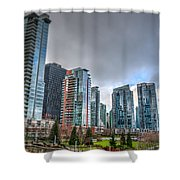 Vancouver Waterfront Shower Curtain