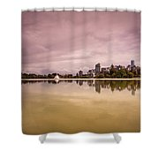 Vancouvers Lost Lagoon Shower Curtain