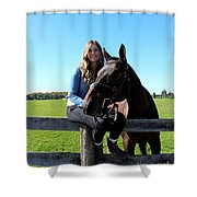 Vanessa Fritz 16 Shower Curtain