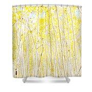Vanilla Cake Shower Curtain