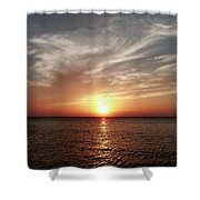 Vanilla Sky Shower Curtain