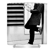 Vanity Stands  Shower Curtain