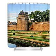 Vannes In Brittany France Shower Curtain